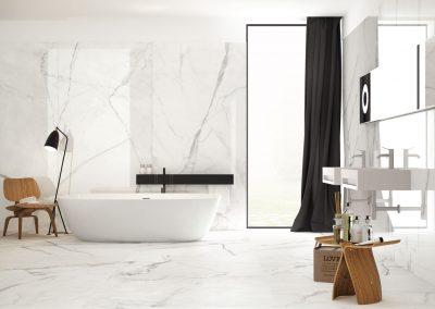 Infinito 2.0 - White Marble